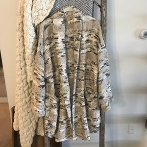 Anthropologie Moth oversized sweater coat